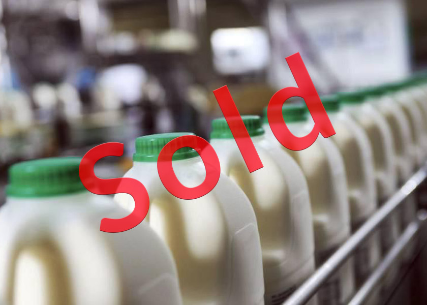 Milk round for sale (guernsey)